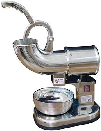 DGYAXIN Smoothies Ice Crusher Eiscrusher Elektrische Sicherheitsschalter Rust-Proof Eiszerkleinerer leicht zu bedienen