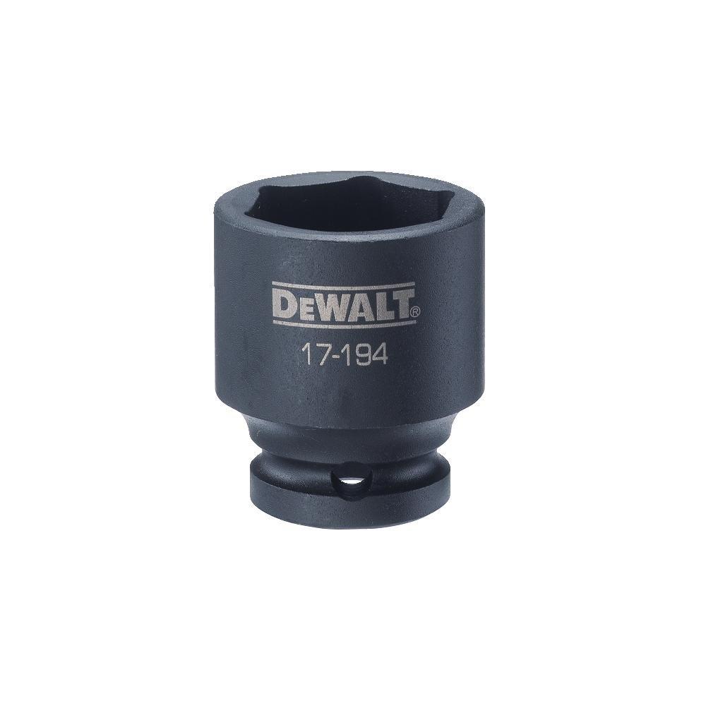 DEWALT 1/2'' Drive Impact Socket 6PT 28MM