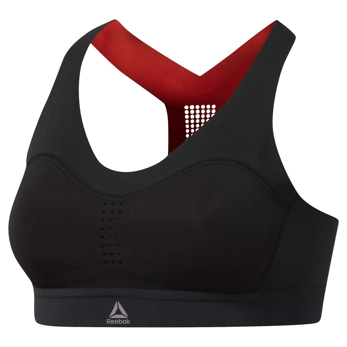 Reebok Puremove Bra, Black, X-Small/Small by Reebok (Image #1)