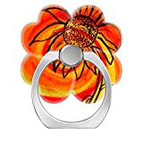 Pop Phone Ring Stand Holder 360 degree Rotation Reusable Ring Holder Finger Grip Universal socket Kickstand for iPhone X 6 6s 7 7 Plus 8 8Plus Galaxy S8 S7 Edge - Sunflower Art