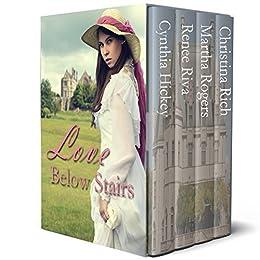 Love Below Stairs: Edwardian romances by [Hickey, Cynthia, Riva, Renee, Rogers, Martha, Rich, Christina]