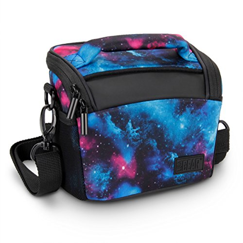 USA Gear Bridge Camera Bag Galaxy w/Protective Neoprene Mate