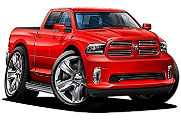 2017 Dodge Ram >> Amazon Com 2015 2017 Dodge Ram 1500 Sport 4ft Long Wall Graphic