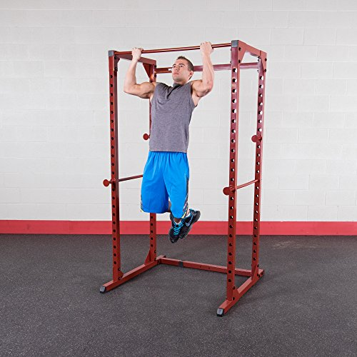 Best Fitness Power Rack Package Red Frame/ black Upholstery by Best Fitness (Image #3)