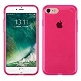 iPhone 7 Case, Mybat TPU Rubber Candy Skin Case Cover For Apple iPhone 7, Hot Pink