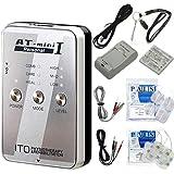 低周波治療器 AT-mini personal I シルバー (ATミニパーソナル1) +アクセルガードLサイズ(5x9cm:1袋4枚入)セット