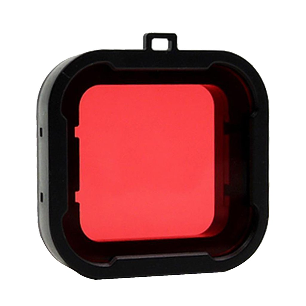 MagiDeal Underwater Diving Lens UV Filter Converter for GoPro Hero 4/3+ - Red STK0151001695