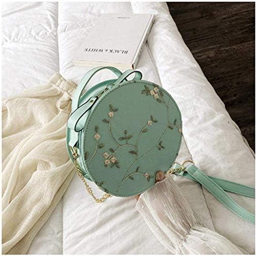 N/A DJBYY Moda Donna Casuale Semplice Shoulder Bag Messenger Bag Piccola Rotonda, Piccola Rotonda Shoulder Bag Messenger