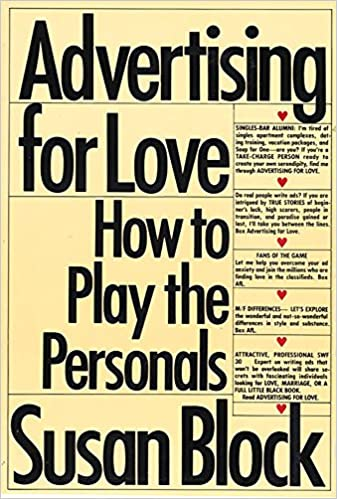 Advertising for love: How to play the personals