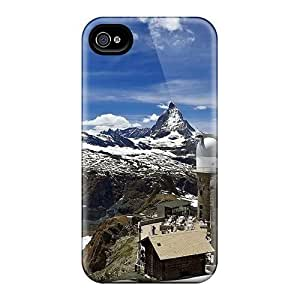 For VBx31033CHLU Gornergrat Highest Hotel In The Swiss Alps Protective Cases Covers Skin/HTC One M7 Cases Covers