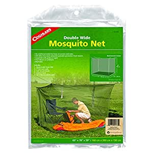 Coghlan's Double Wide Rectangular Mosquito Net, Green