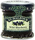 ST. DALFOUR Wild Blueberry Conserves, 1 Ounce Jars (Pack of 48)