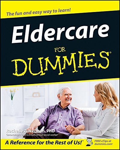Eldercare For Dummies by Zukerman, Rachelle (May 23, 2003) Paperback