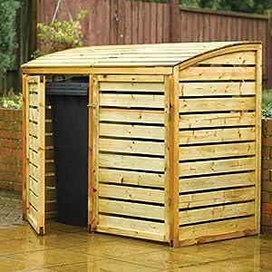 Rowlinson Double Bin Store Wooden