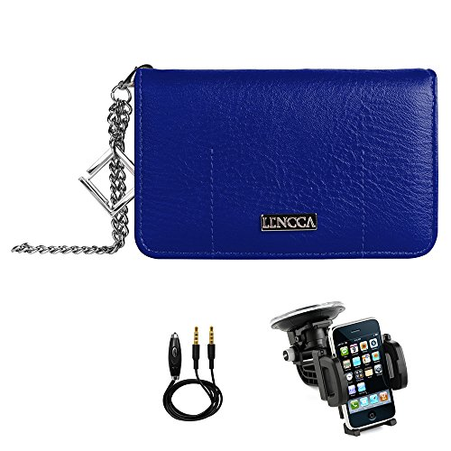 royal-sky-lencca-purse-case-folio-flip-with-card-slots-and-zippered-pocket-feature-design-for-sony-x