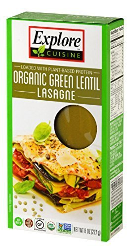Organic Green Lentil Lasagne 8oz Package