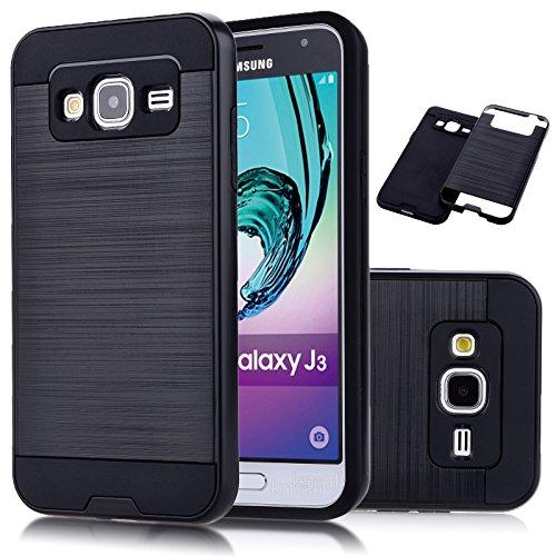 Cheap Cases Galaxy J3 Case, J3 Case, Express Prime Case, Amp Prime Case,Kmall [Metal..