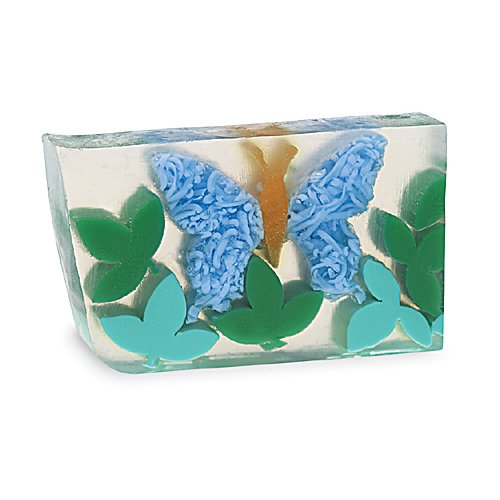 (Primal Elements Papillion En Bleu 6.0 Oz. Handmade Glycerin Bar Soap)