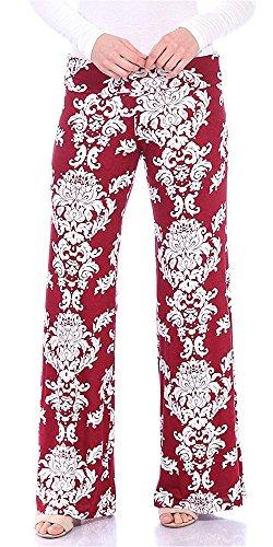 Comodo Libero Pants Eleganti Palazzo Tempo fashion Pantaloni Leggero Lunghe Colour Baggy Abbigliamento Pantaloni 005 Donna Chic Stampate Pantaloni Baggy Ragazza HX Pantaloni Estivi w78qUUIy