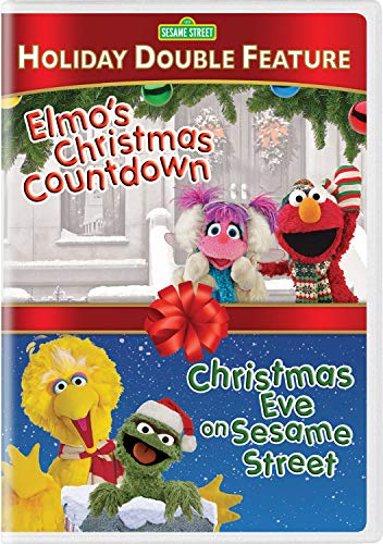 Sesame Street: Christmas Eve on Sesame Street / Elmo's Christmas Countdown (DBFE/DVD) (Christmas Shopping Countdown)