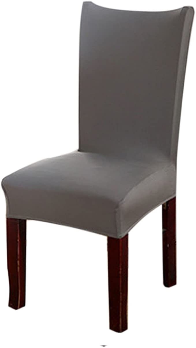 Kaariss Stretch Removable Washable Short Dining Chair Protector Cover Slipcover, 16