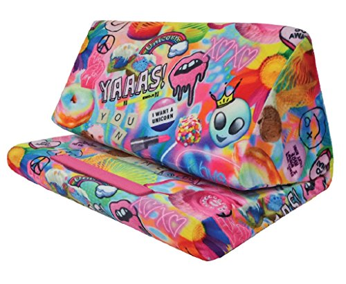 iscream Tablet Pillow (Psychedelic Collage)