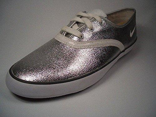 Nike Deuce Leather 354043-011 Silber Größe Euro 38 / US 7 / UK 4,5 / 24 cm