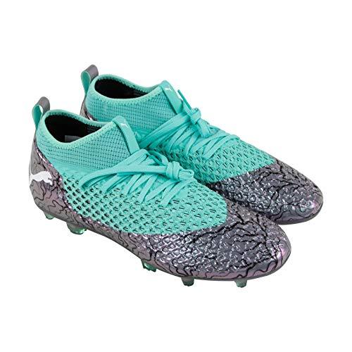 PUMA Men's Future 2.2 Netfit FG/AG Soccer Cleats (Sz. 10.5) Silver, World Cup 2025