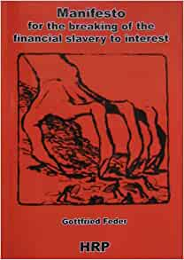 manifesto for breaking the financial slavery to interest pdf