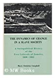 The Dynamics of Change in a Slave Society : A Sociopolitical History of the Free Colored's of Jamaica, 1800-1865, Campbell, Mavis C., 0838615848