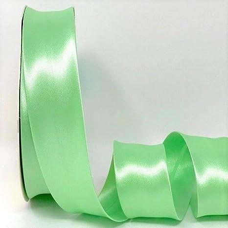 30mm Wide Satin Bias Binding Ivory Per Metre