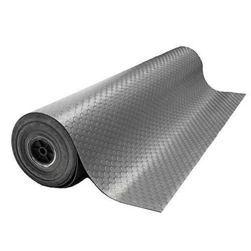 Rubber Cal Coin-Grip Flooring and Rolling Mat, Dark Grey, 2mm x 4 x 8-Feet by Rubber-Cal (Image #4)