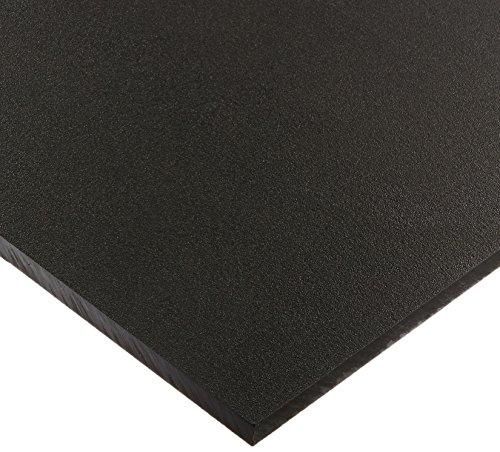 Seaboard High Density Polyethylene Sheet, Matte Finish, 1/2