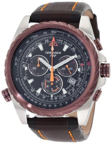 Torgoen Swiss Men's T22102 T22 Series Classic Black Aviation Watch