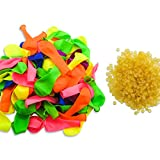 TOAOB Water Balloon refill 1000 and 4mm Special Rubber Bands 1000