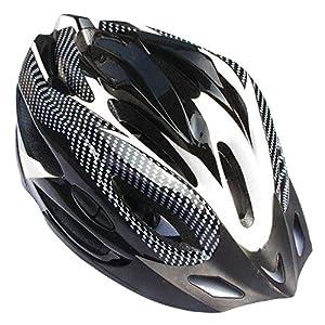 Ezyoutdoor Black Professional Bicycle Helmet Ultralight Bike Cycling Helmet Integrally-molded Road Mountain Cycling Helmet