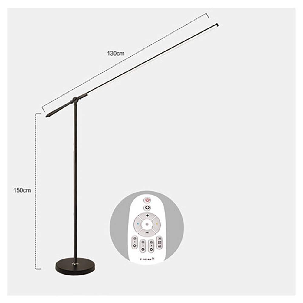 NKDK フロアランプ - ハイルーメンタッチコントロールフロア照明器具LED、リビングルームの寝室用読書スタンドランプ調光対応 -153 フロアランプ (色 : B)  B B07QHJZ3ZD