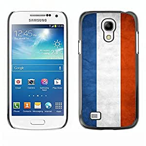 Shell-Star ( National Flag Series-Netherlands ) Snap On Hard Protective Case For Samsung Galaxy S4 MINI / i9190 / i9192