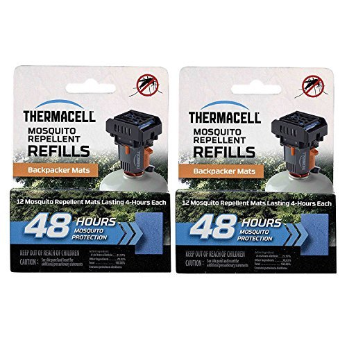 Thermacell M48 48-hrs Backpacker Mosquito Repellent Mats for