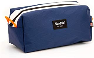 product image for Flowfold Dopp Kit Ultralight and Durable Toiletry Bag, Travel Bag (Navy Blue)