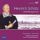 Schütz: Matthäus-Passion (GA) - (Schütz-Edition Vol. 11)