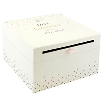 Fun Daisy Love Laughter Wedding Card Collection Box Gift Accessories
