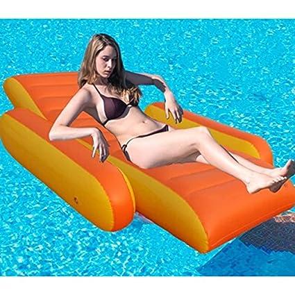 Lalawow Grande Sillón hinchable Asiento de piscina Sofá ...