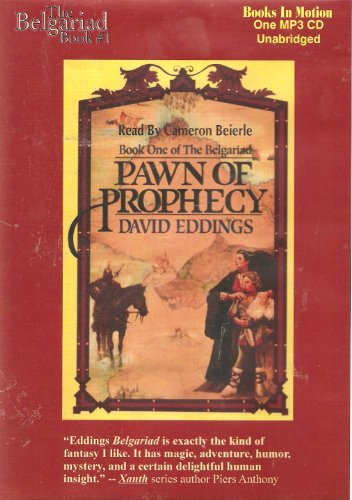 The Belgariad, Book #1 - Pawn of Prophecy (Pawn Of Prophecy Cd)