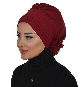 Islamic-Easy-Ready-Muslim-Hijab-Instant-Chiffon-Turban-
