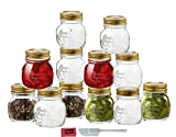The Quattro Stagioni Collection of home-canning jars includes various sizes of jars, each designed with a charming old world Italian motif and sealed with a signature gold metal lid. The perfect decorative jars for everyday use, its pleasing ...