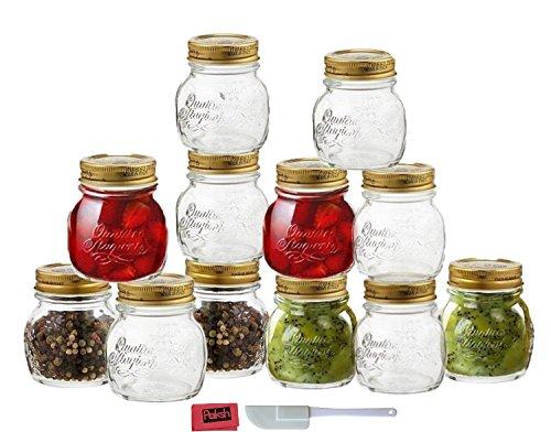 12 pcs 8 5oz glass decorative mini mason jar canning. Black Bedroom Furniture Sets. Home Design Ideas