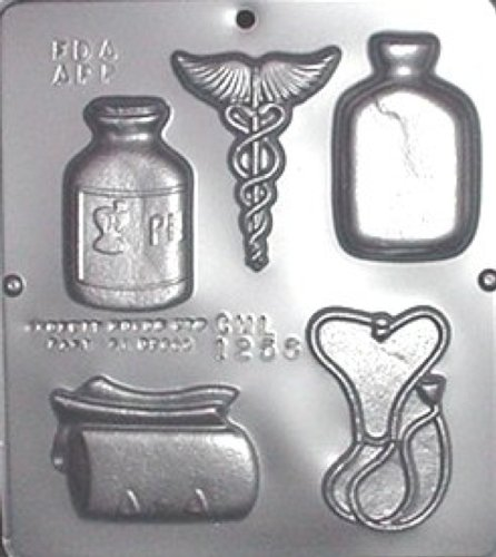 Mold Assortment (Doctor Medical Assortment Chocolate Candy Mold 1256)