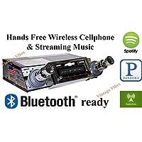 Bluetooth Enabled 1961-1962 Chevy Impala USA-630 II High Power 300 watt AM FM Car Stereo/Radio