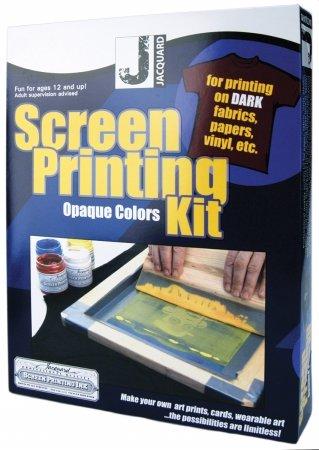 Jacquard Products JSI9001 Jacquard Screen Printing Kit-Opaqu